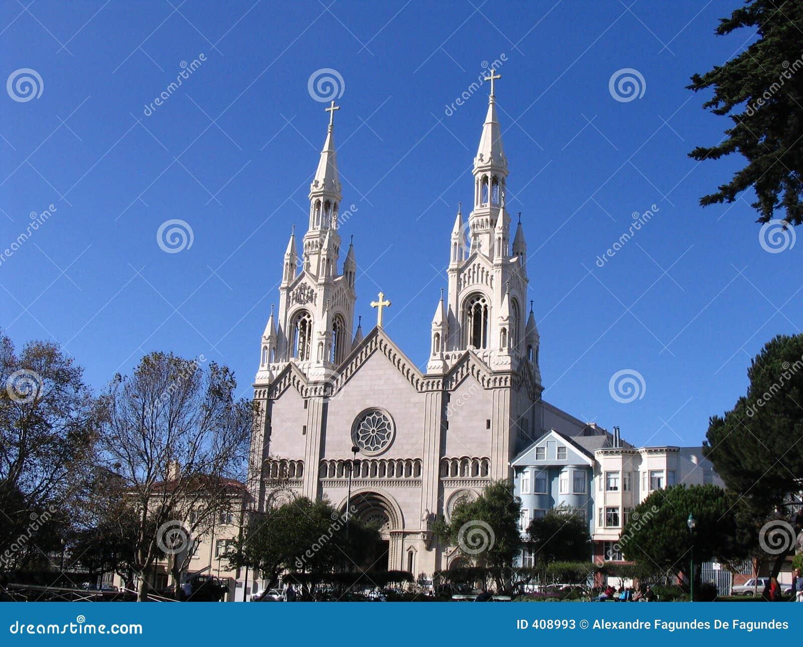 San Francisco - Kirche Stockfotos - Bild: 408993