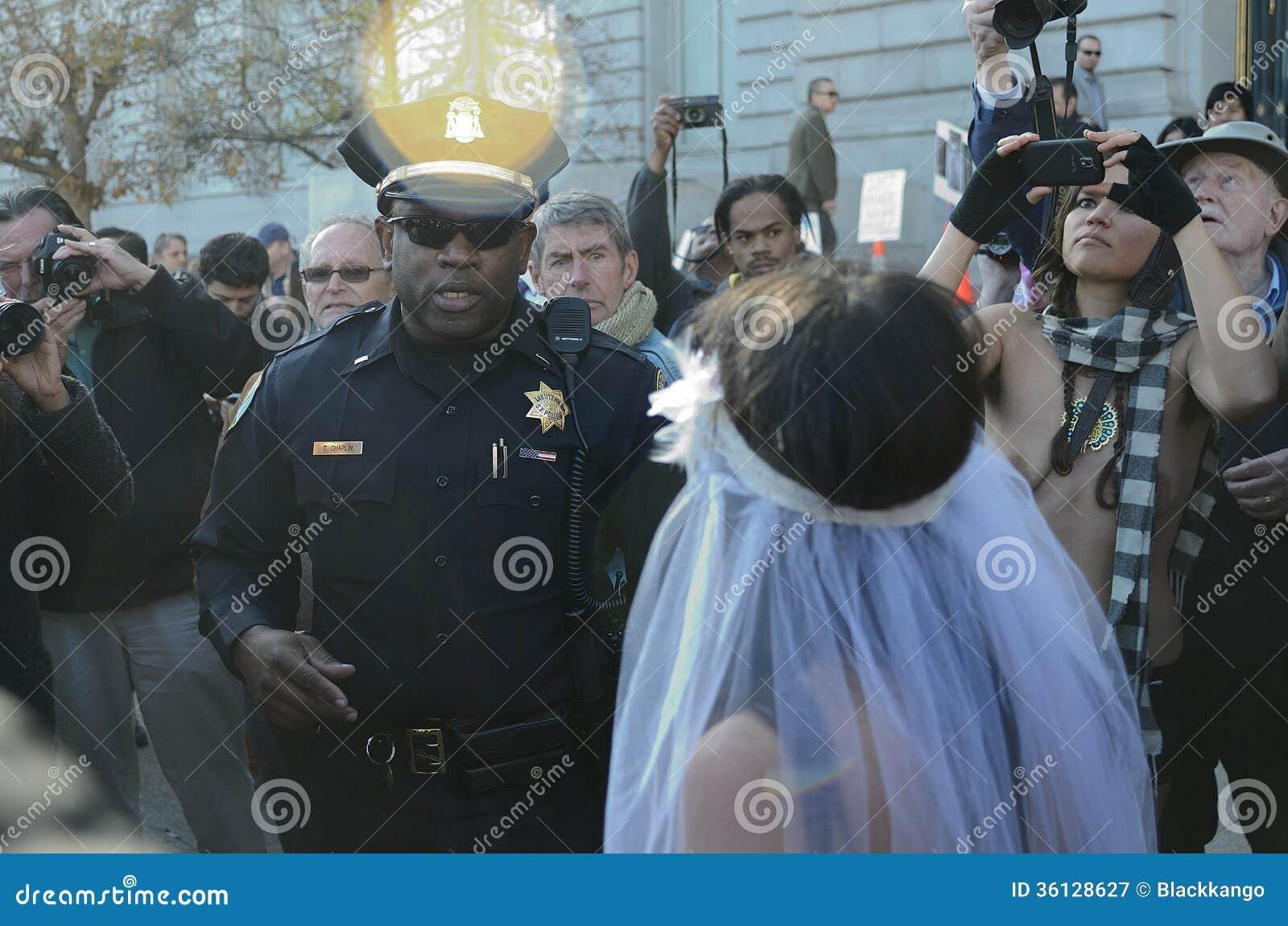 San Francisco Nude Wedding