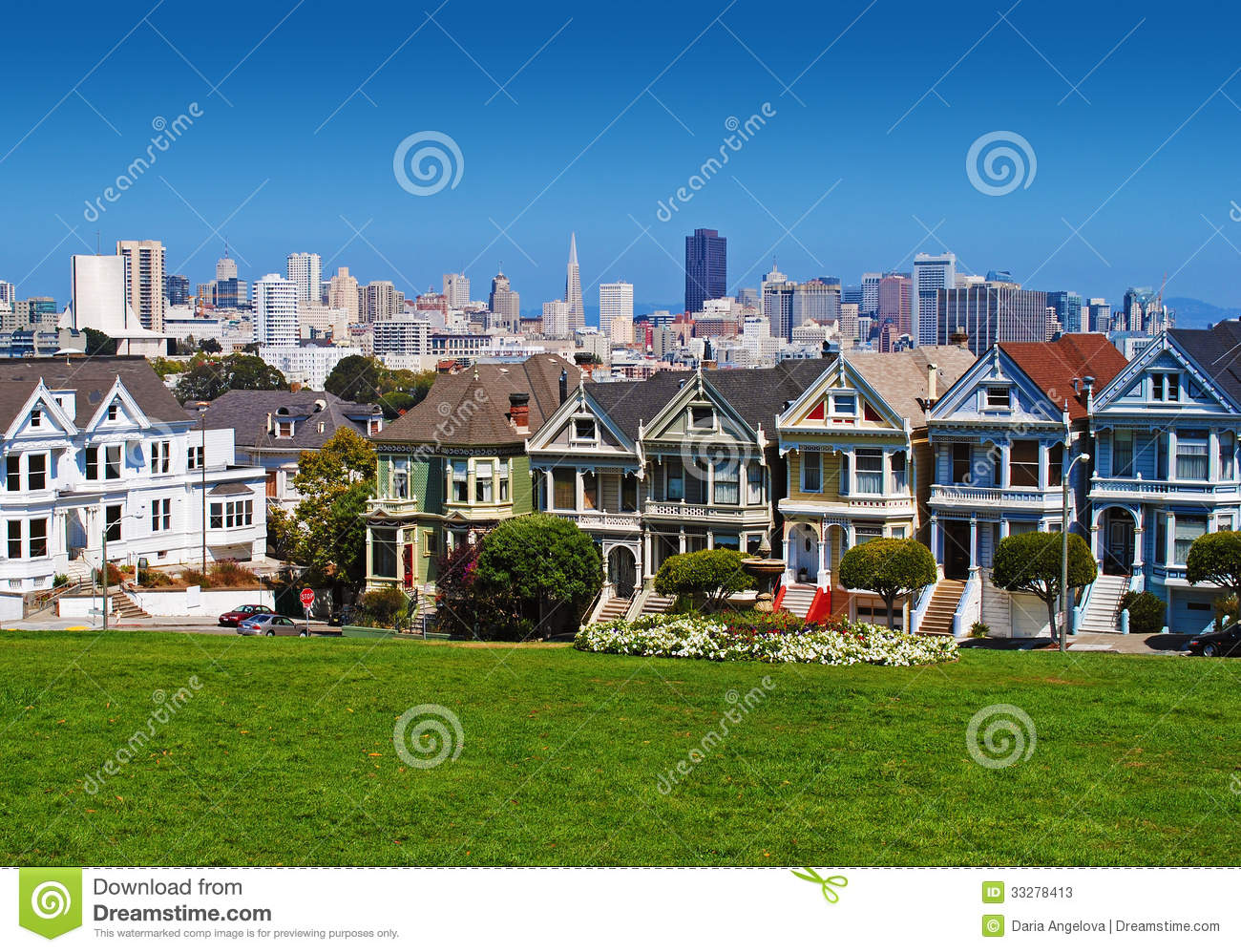 San francisco painted ladies stock image image of for San francisco victorian houses history