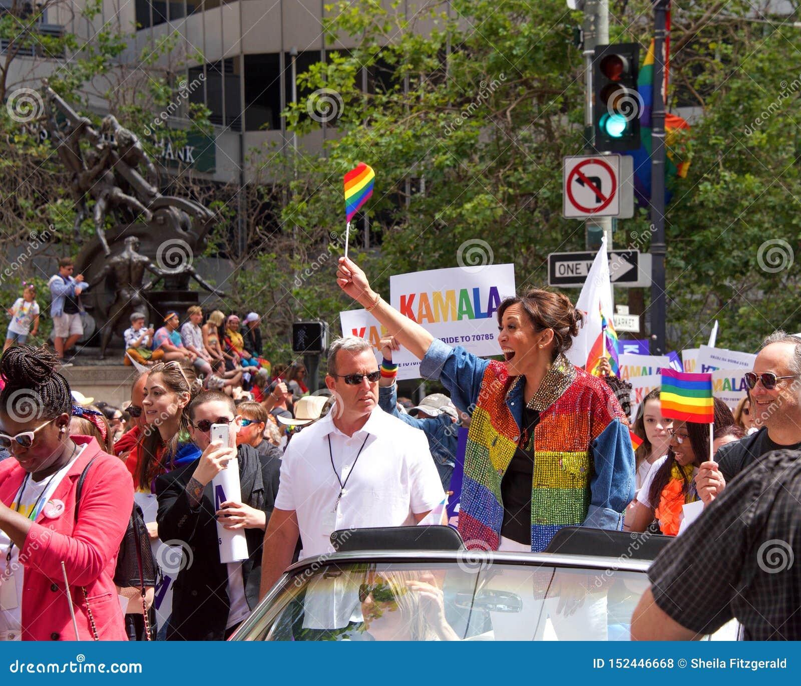 San Francisco Gay Pride Parade 2017 Editorial Stock Image