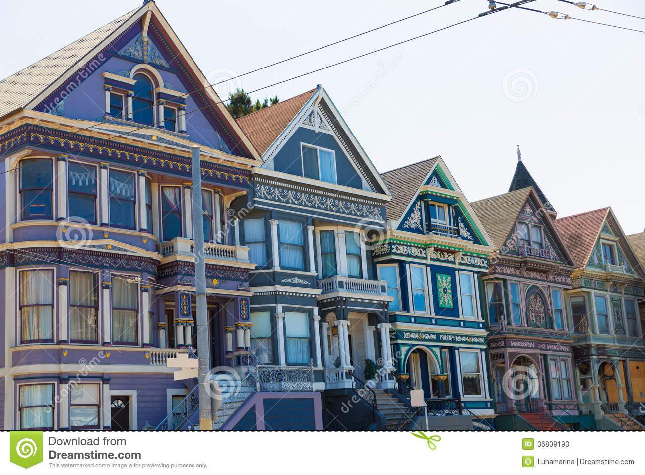 San francisco victorian houses in haight ashbury for Building a victorian house