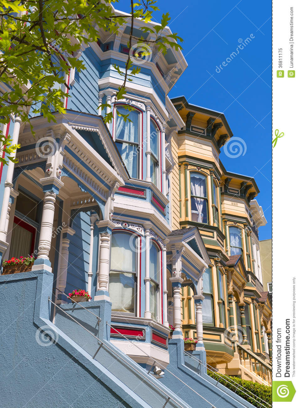 San francisco victorian houses in pacific heights for Buy reclaimed wood san francisco