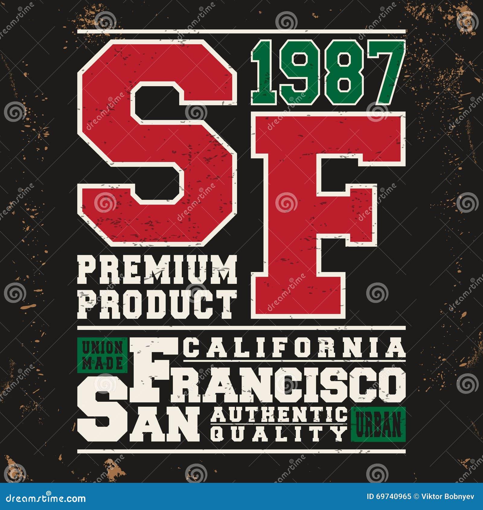 San Francisco Vintage Stamp Stock Vector Image 69740965