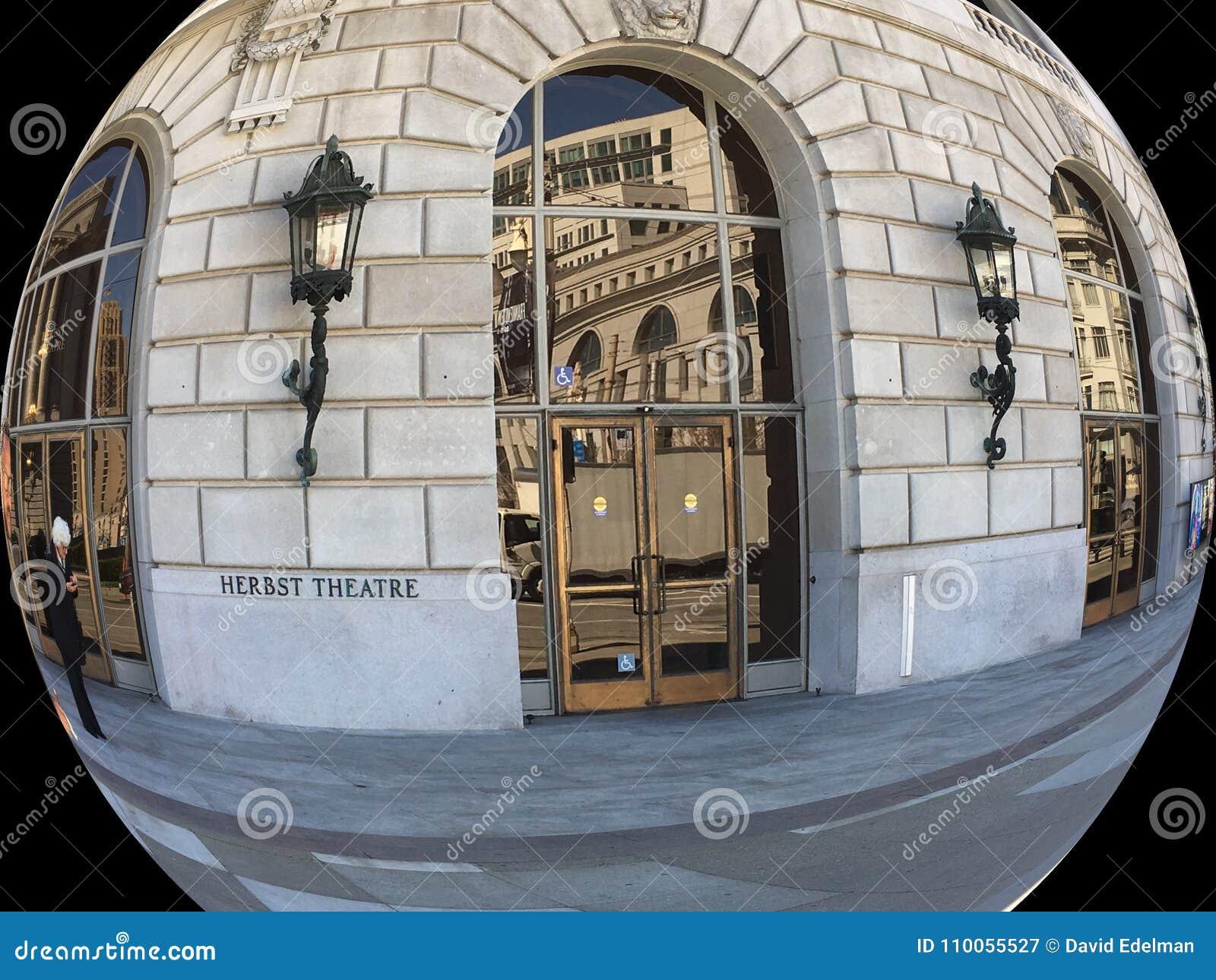 San Francisco War Memorial, errichtende Veterane, Herbst-Theater, 3