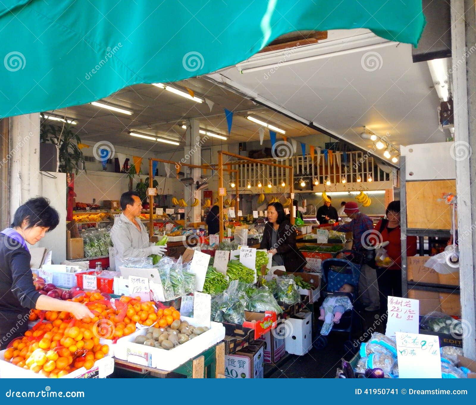 San Fransisco Chinatown rynek