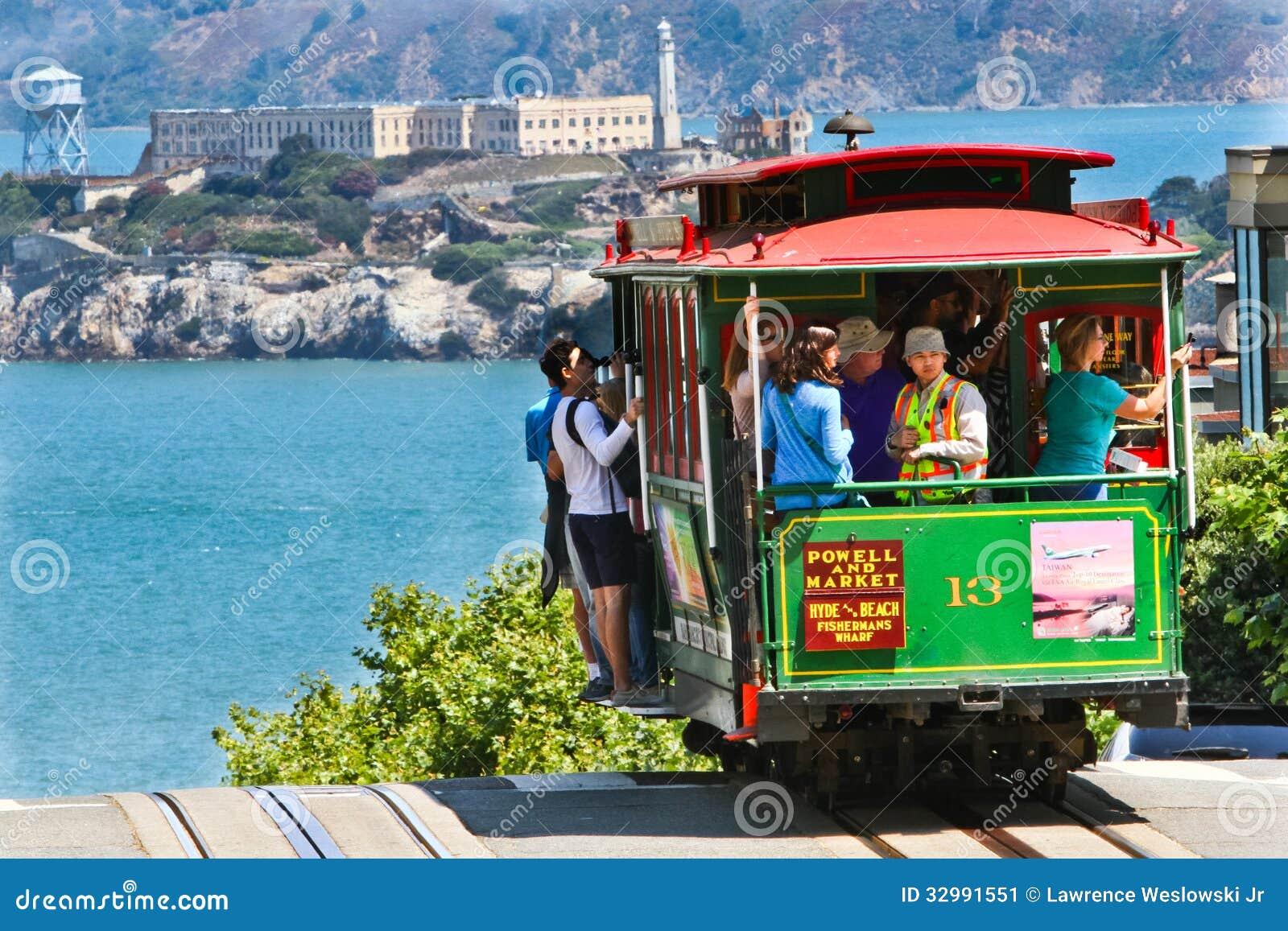 San Fransisco wagon kolei linowej -13, Alcatraz