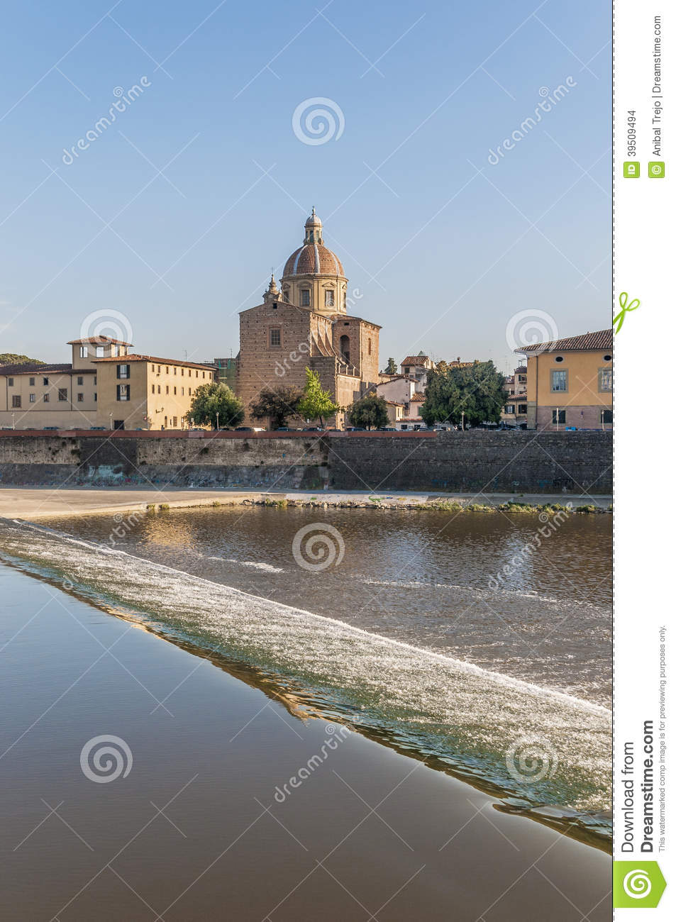 San Frediano in Cestello church in Florence, Italy.