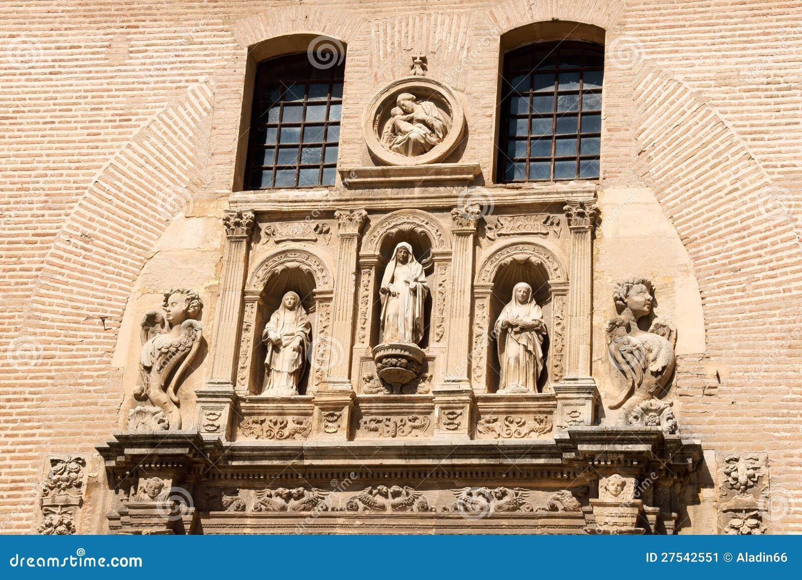 San gil y santa ana church in granada stock image image - Santa ana granada ...