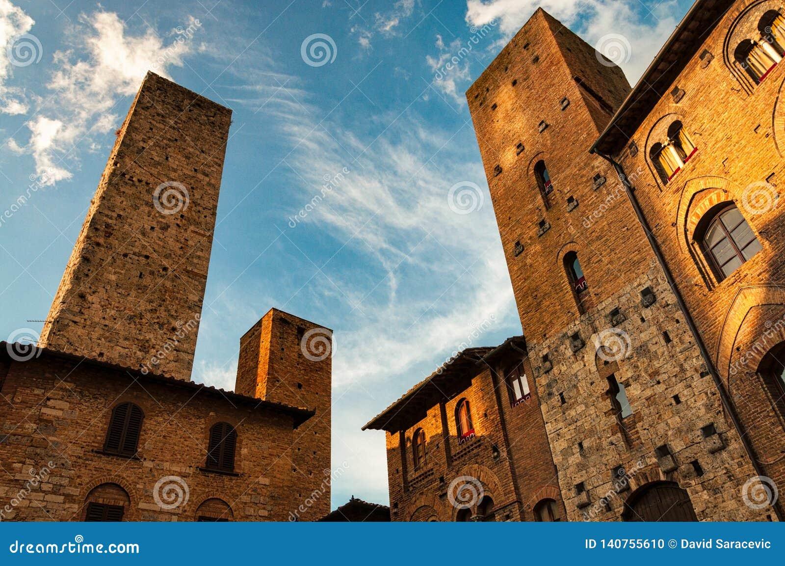 San Gimignano - Italien