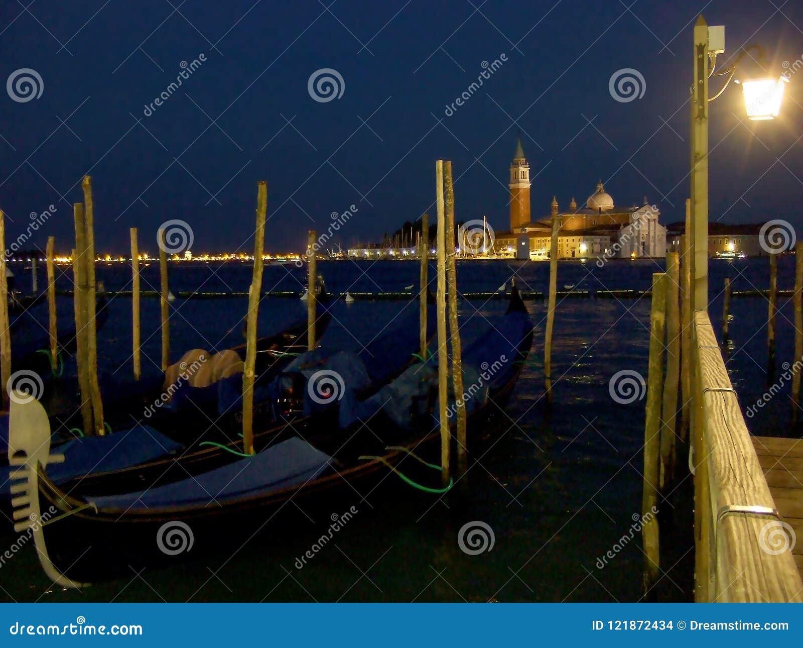 San Giorgio Maggiore kościół w Wenecja Włochy i wyspa
