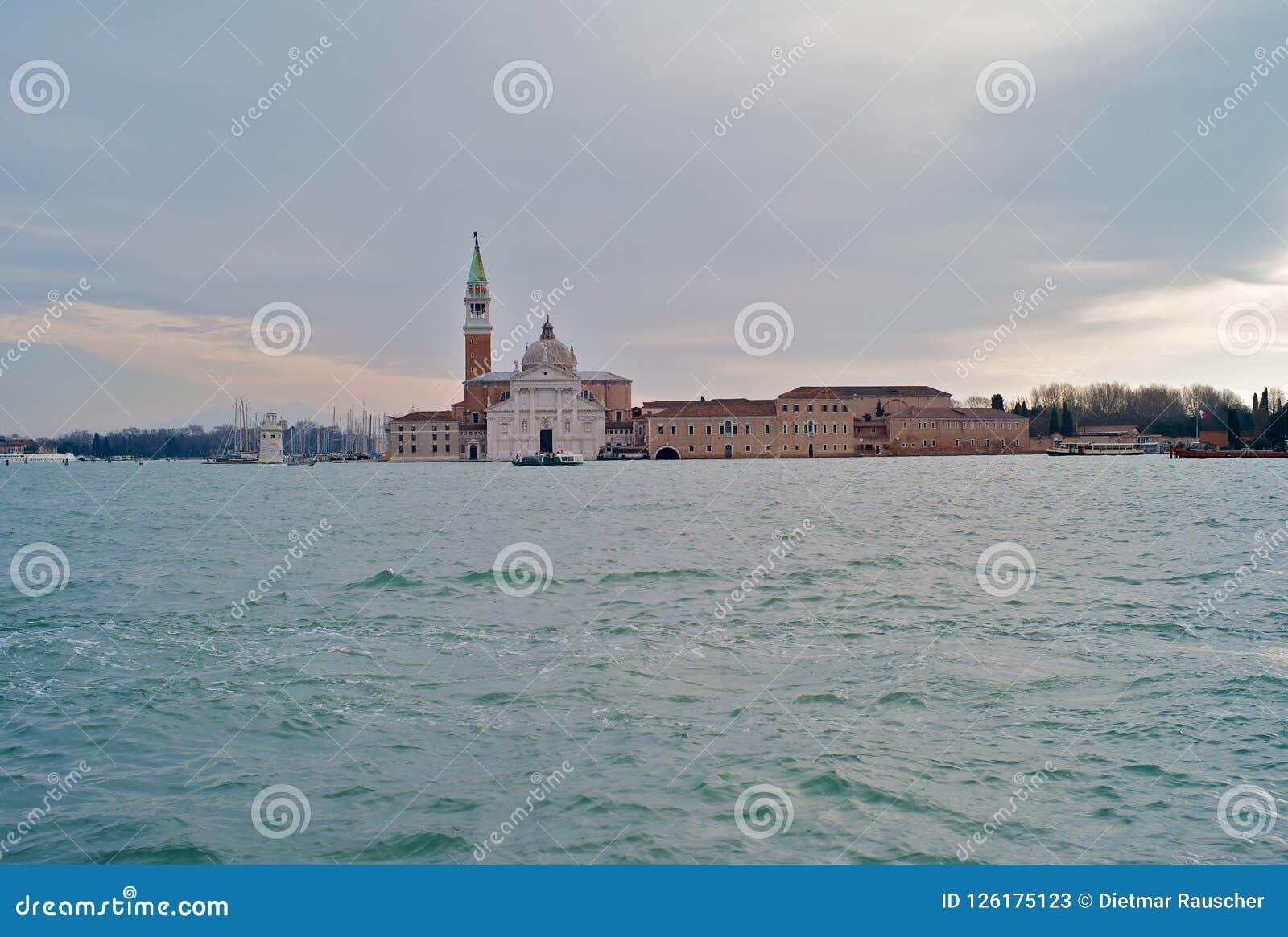 San Giorgio Maggiore, Venezia, Italia