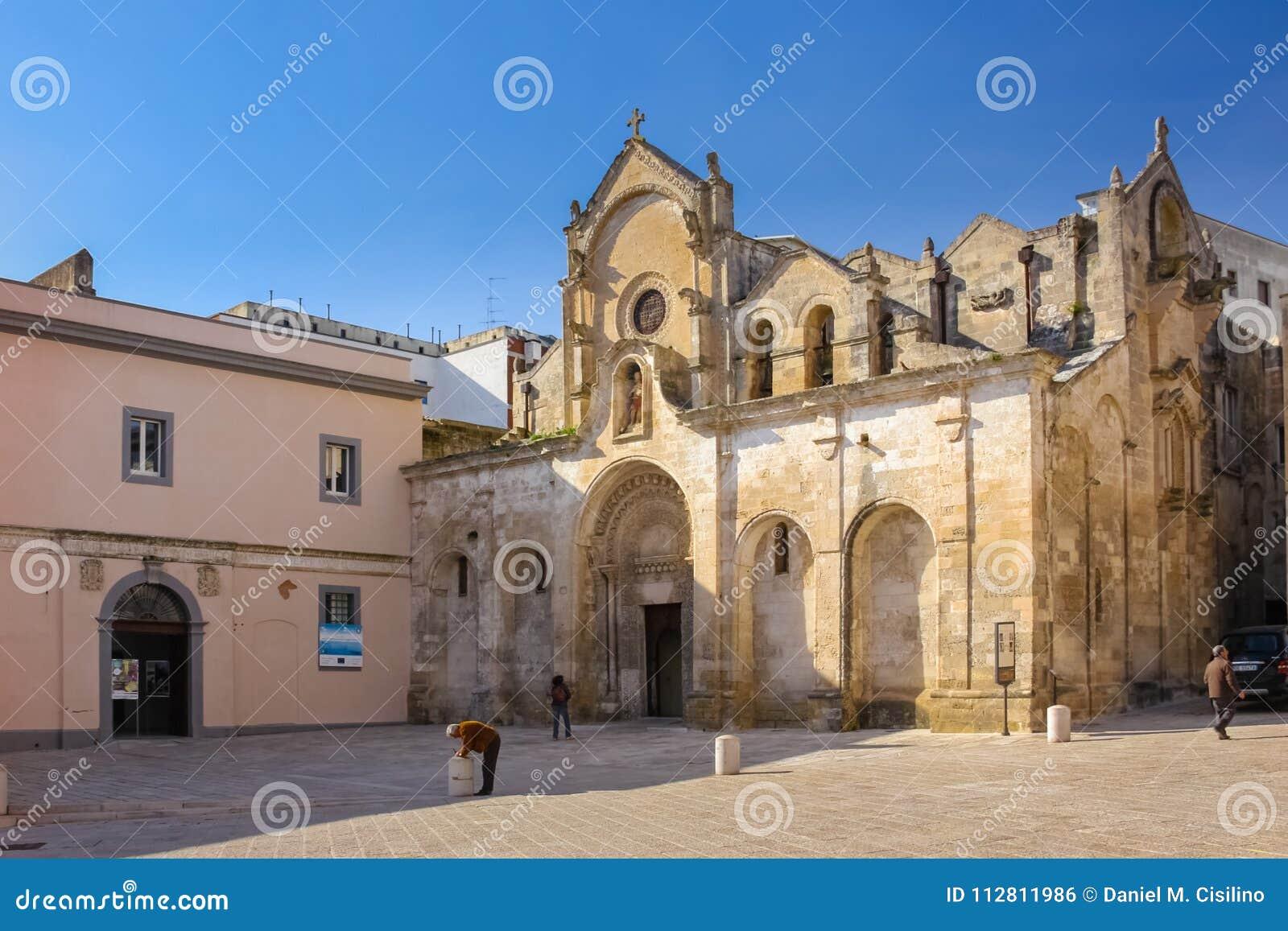 San Giovanni Battista Church Matera Basilicata Apulia eller Puglia italy