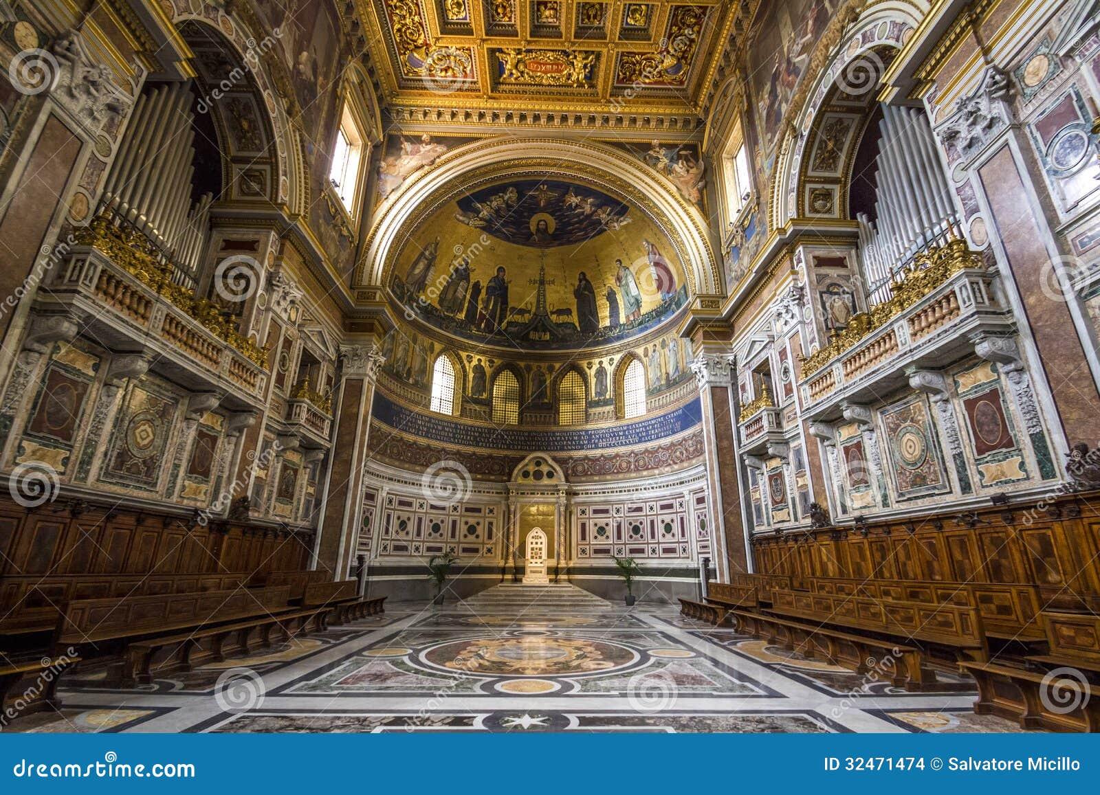 San Giovanni En Laterano En Roma Foto de archivo - Imagen ...
