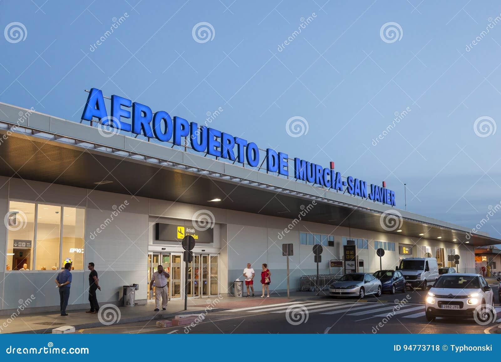 San Javier Airport In Murcia Spain Editorial Stock Photo Image Of