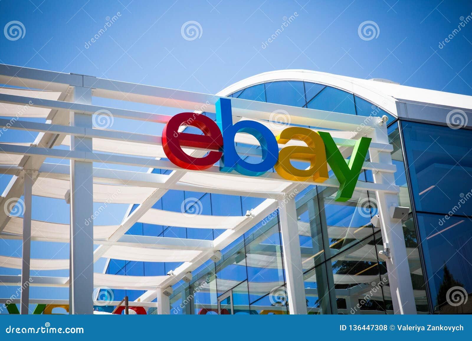 San Jose, California, USA - May 21, 2018: EBay`s