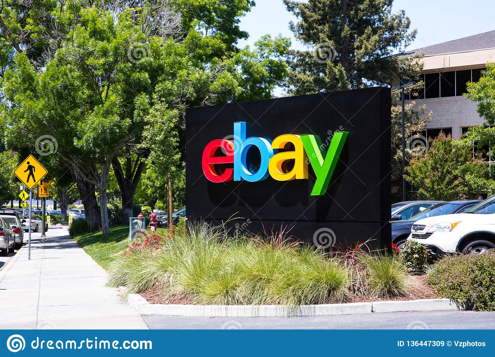 San Jose, California, USA - May 21, 2018: EBay`s