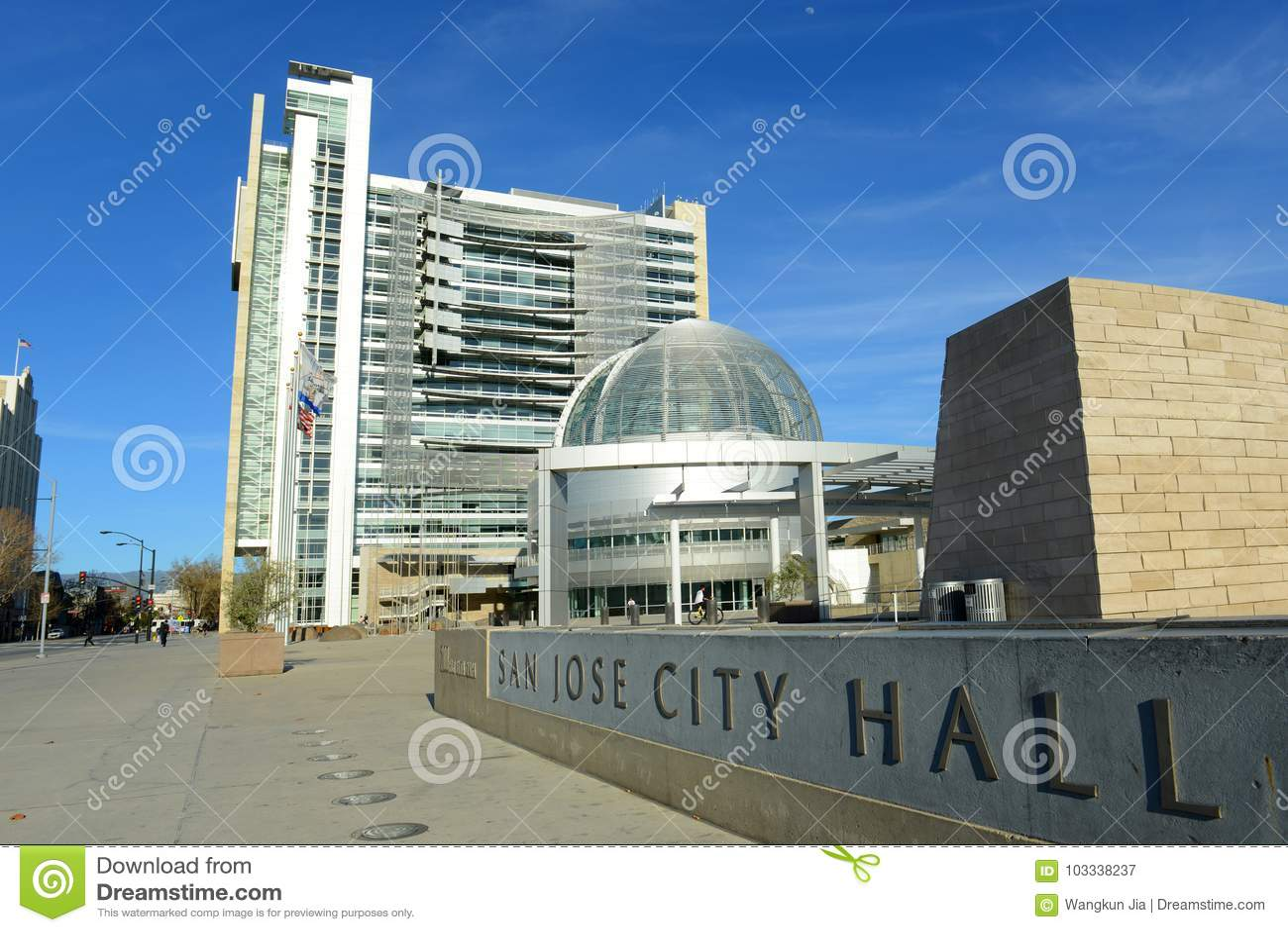 San Jose City Hall, San Jose, Califórnia, EUA
