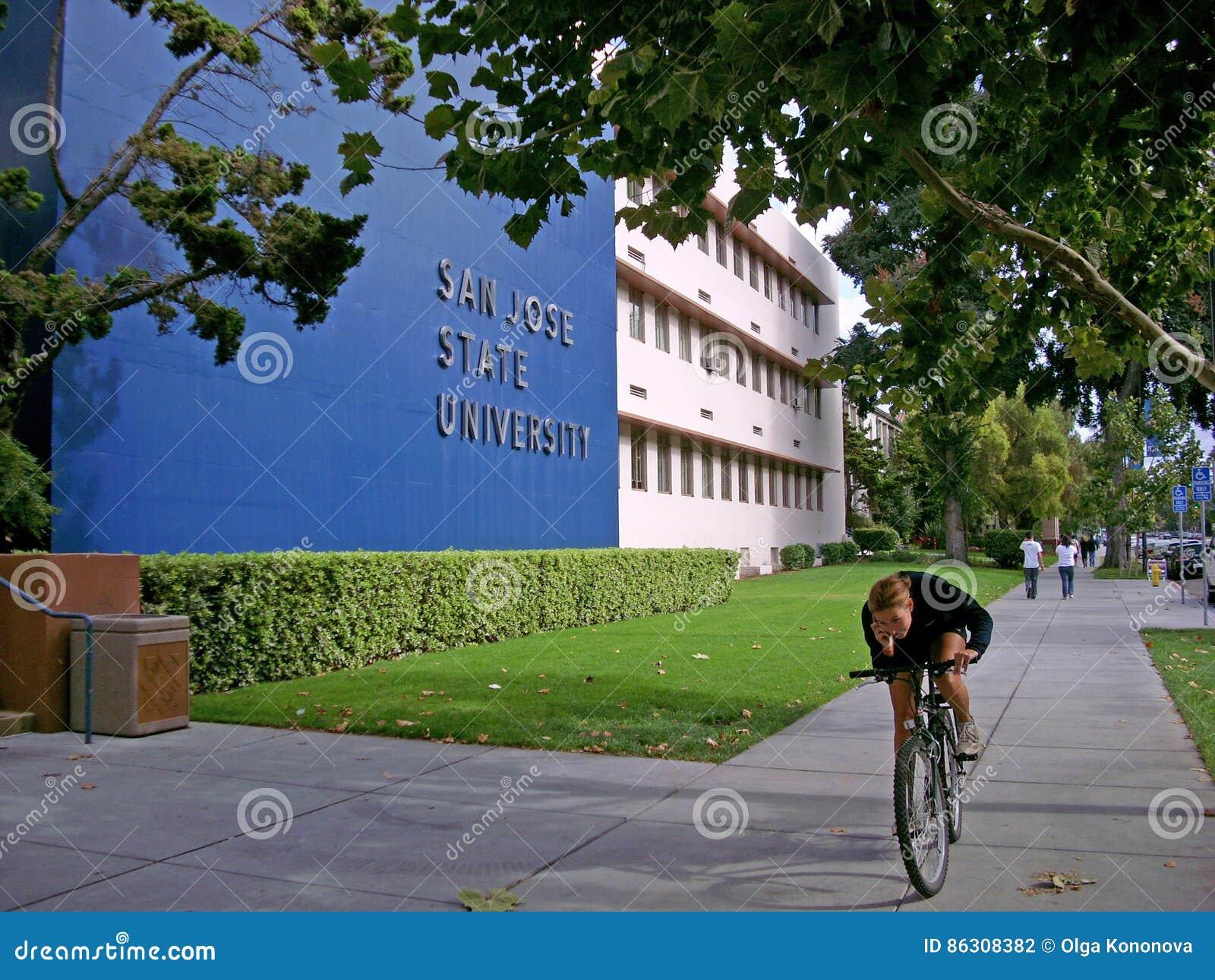San Jose State University byggnad