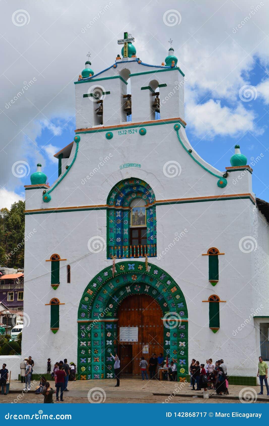 San Juan Chamula Kościelny Chiapas Meksyk