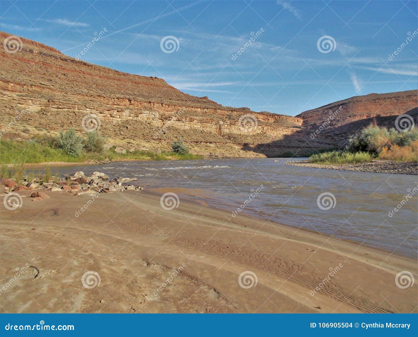 San Juan rzeki falezy