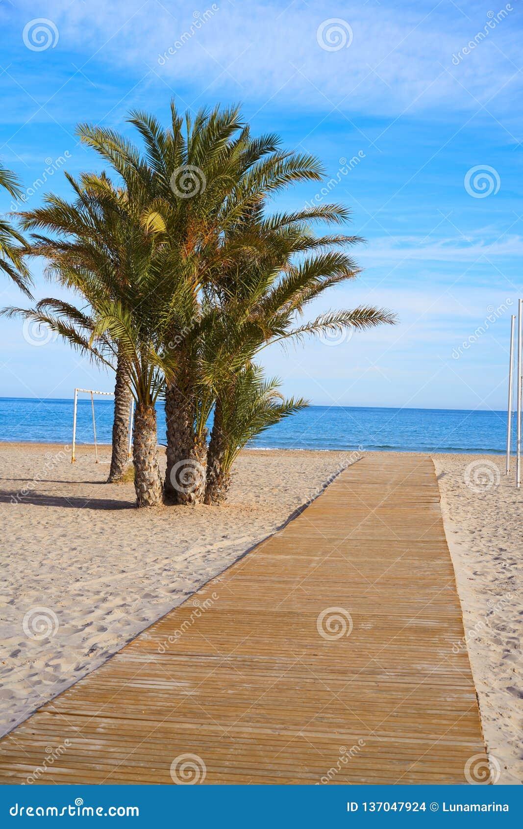 San Juan van het strandplaya Spanje van Alicante