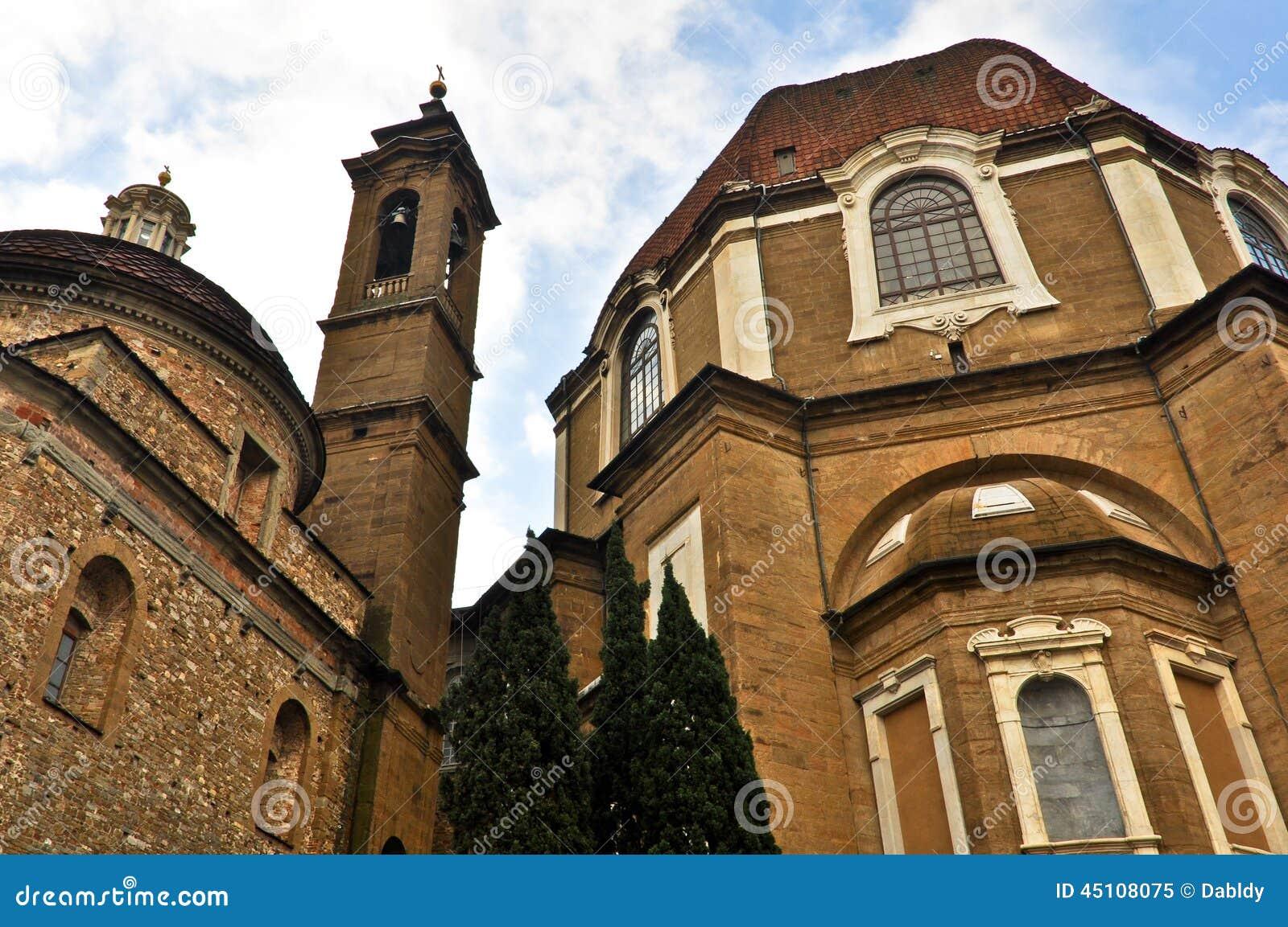 San Lorenzo Church in Florence