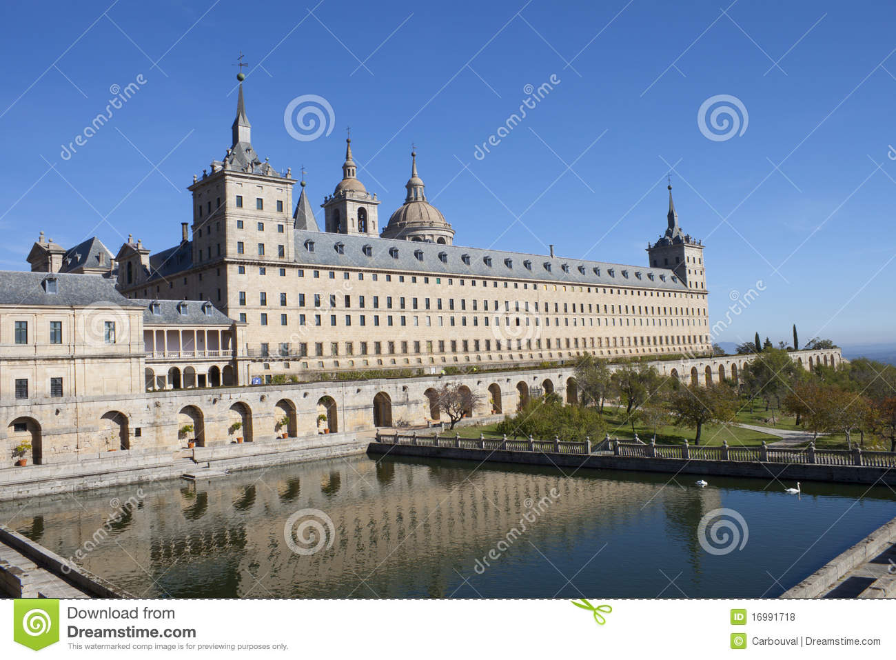San Lorenzo De El Escorial Monastery Royalty Free Stock Photos - Image: 16991718