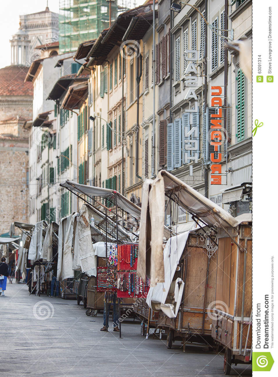 Download San Lorenzo Leather Market Florence Image stock éditorial - Image du achats, italie: 63091314