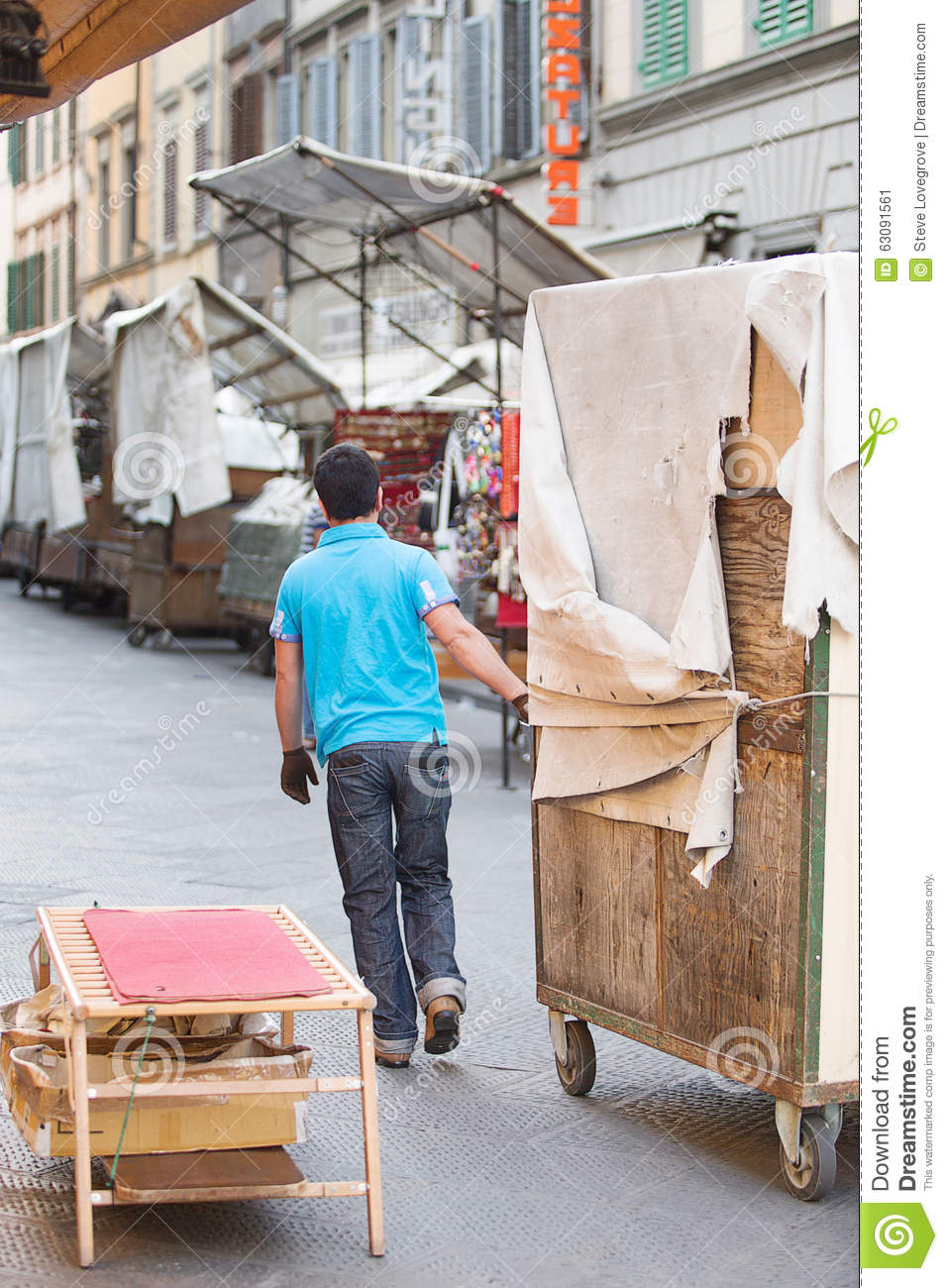 Download San Lorenzo Leather Market Florence Photo éditorial - Image du florence, fonctionnement: 63091561