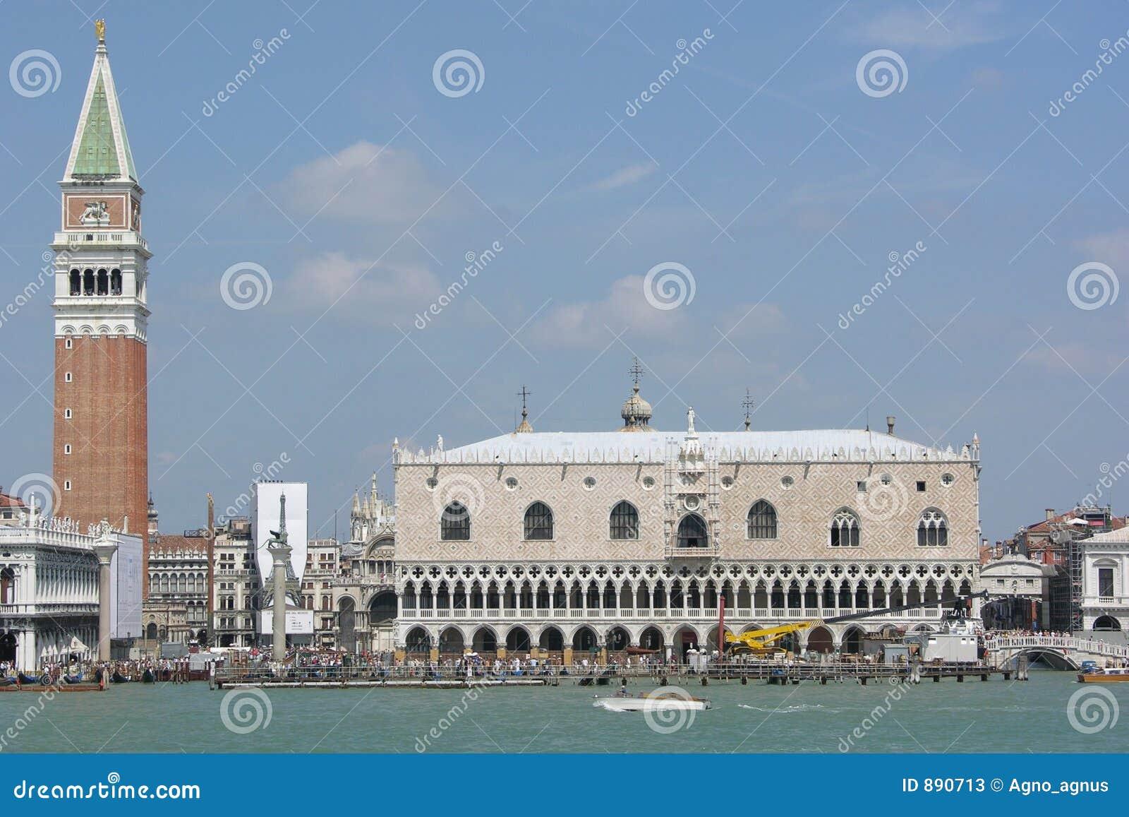San marco włochy widok Wenecji