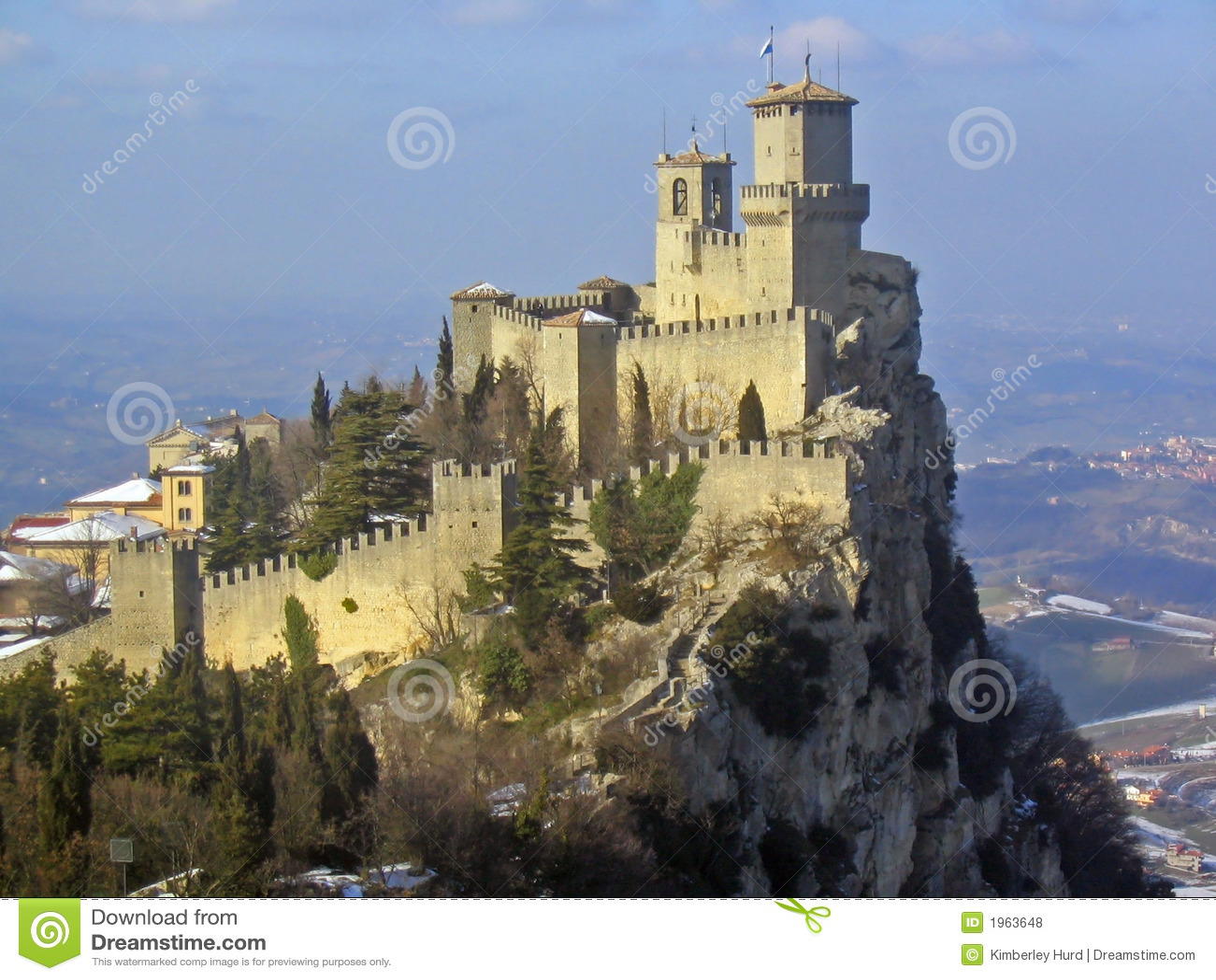 San marino, castle