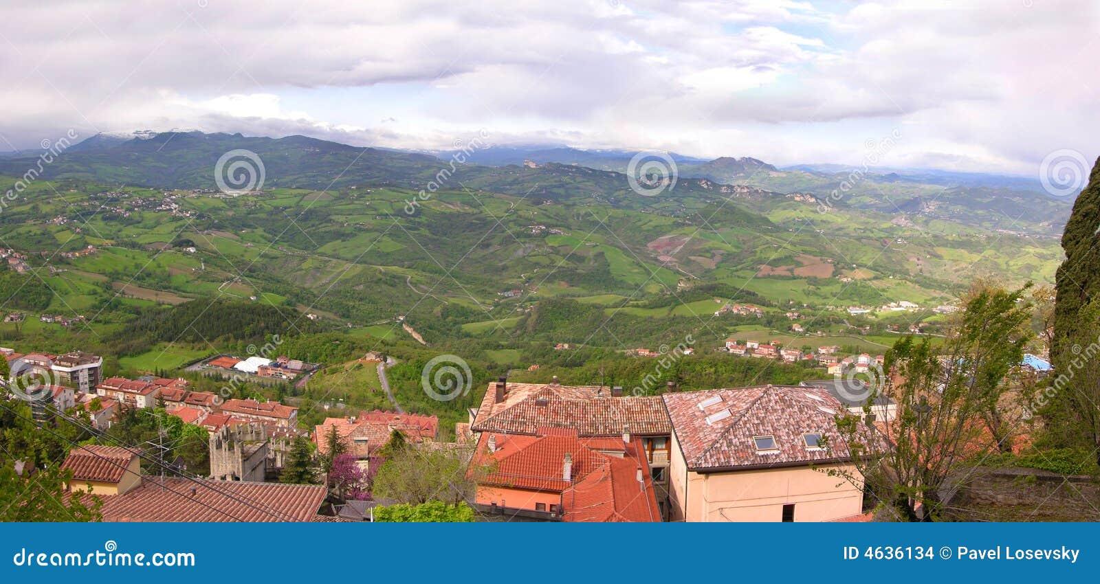 San Marino. Italy