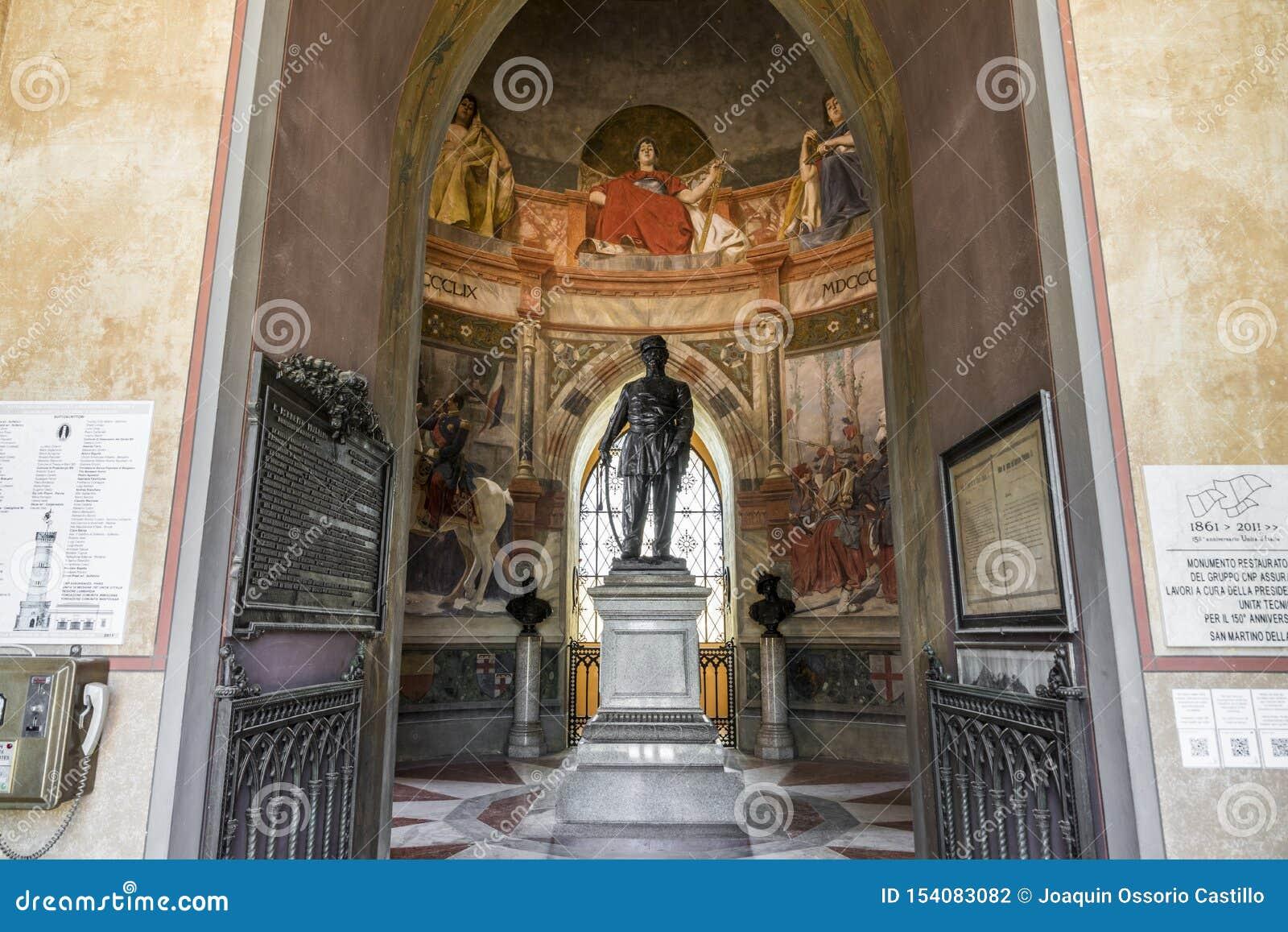 San Martino della Battaglia torn, Italien
