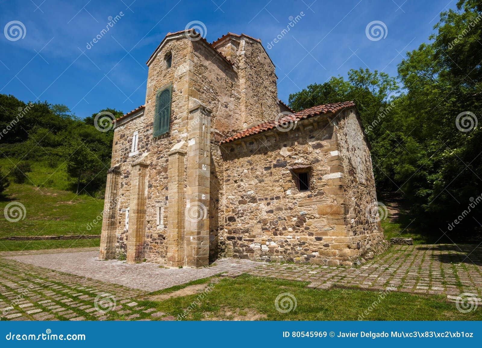 San Miguel de Lillo, церковь пре-романск, столетие IX