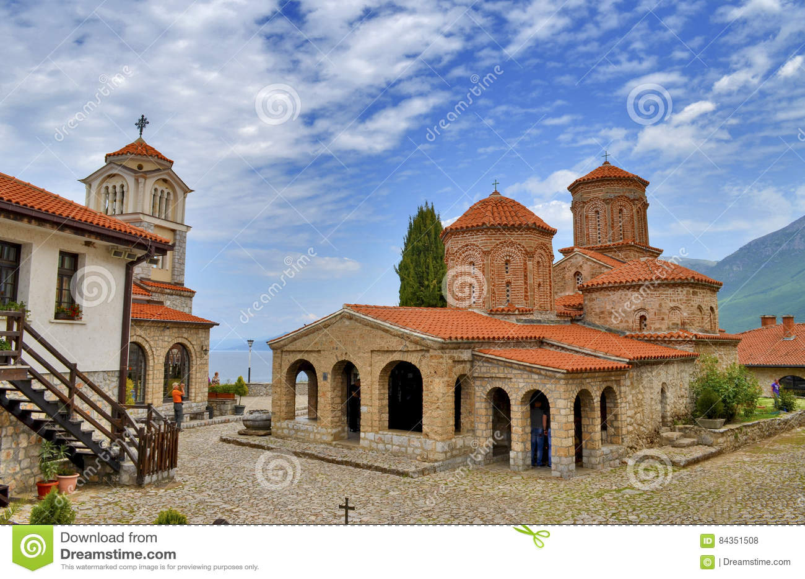 San Naum Monastery, Ocrida, Macedonia