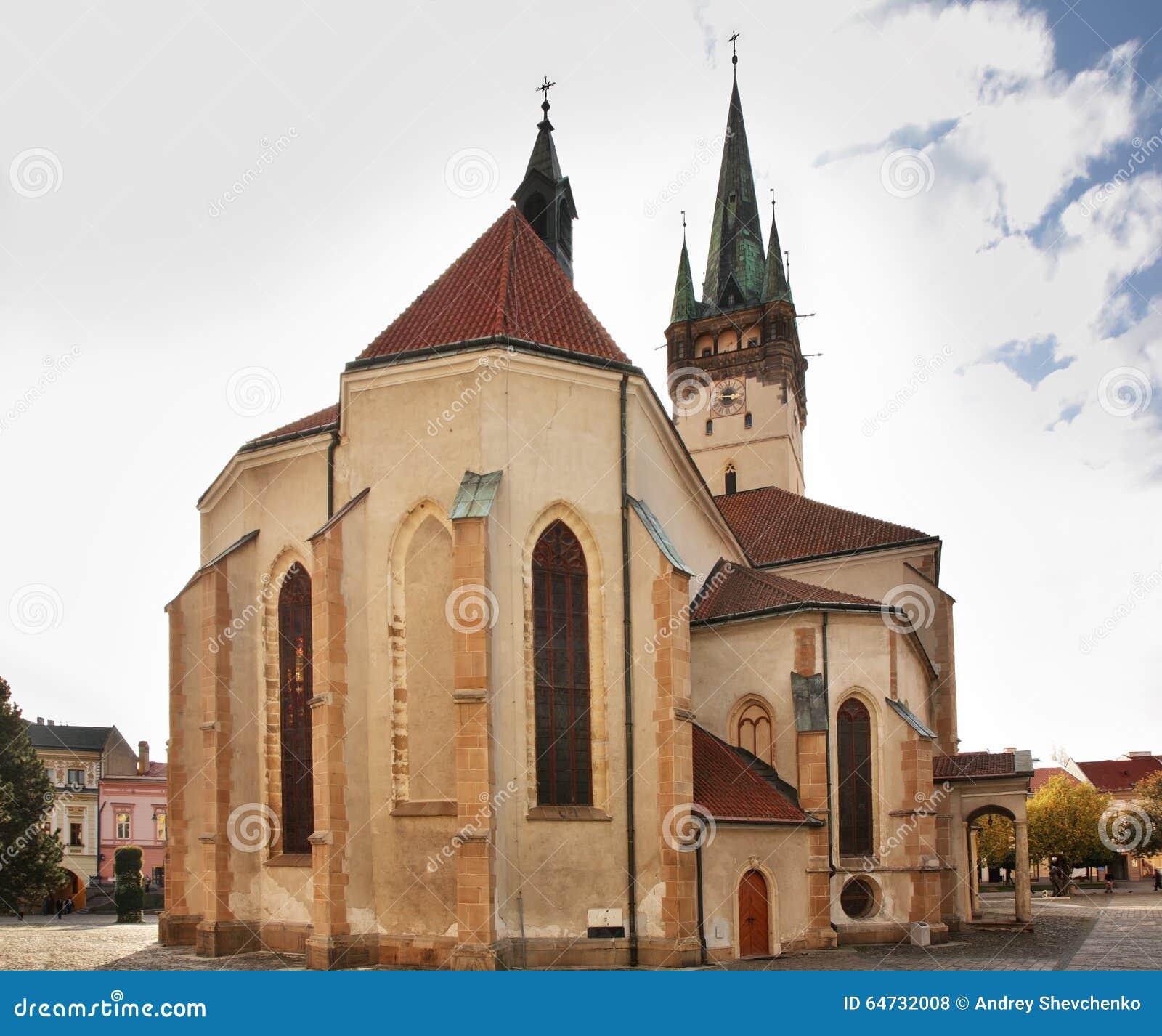 San Nicholas Concathedral in Presov slovakia