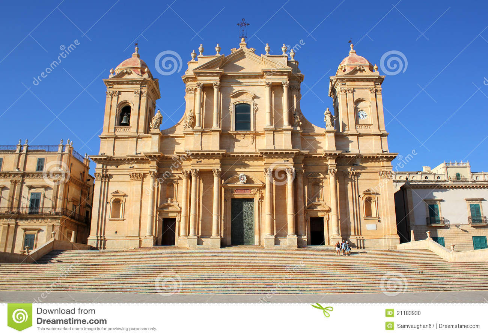 San Nicolo Cathedral in Noto
