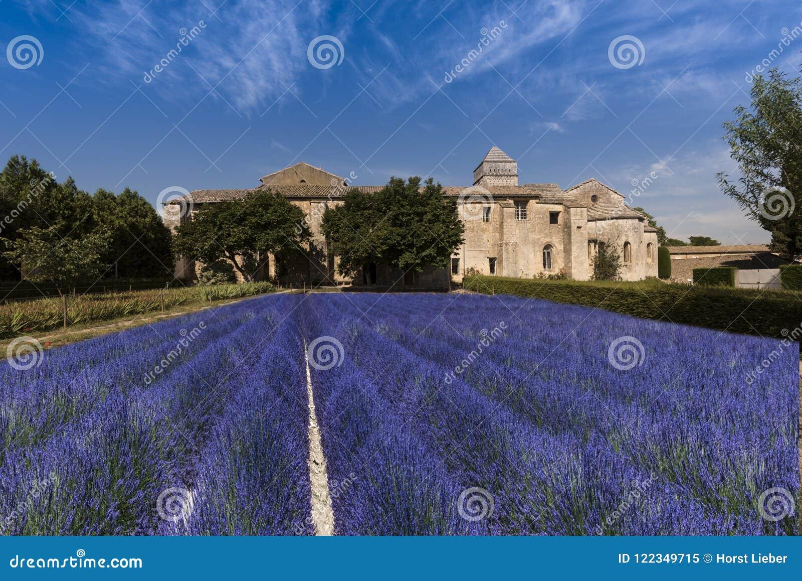 San Paul de Mausole em Saint-Remy de Provence