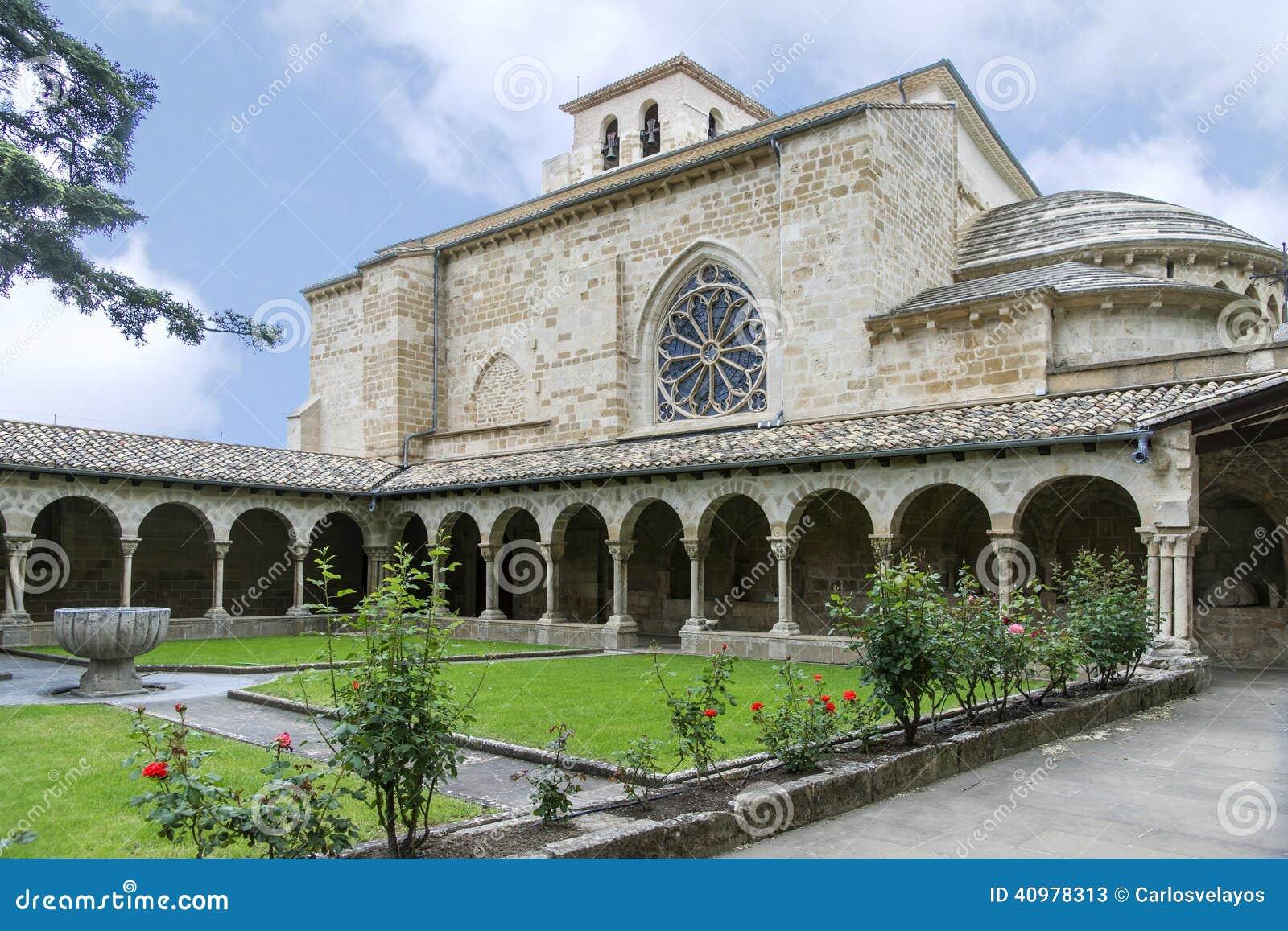 San Pedro de la Rua Church, Estella, Navarre spain