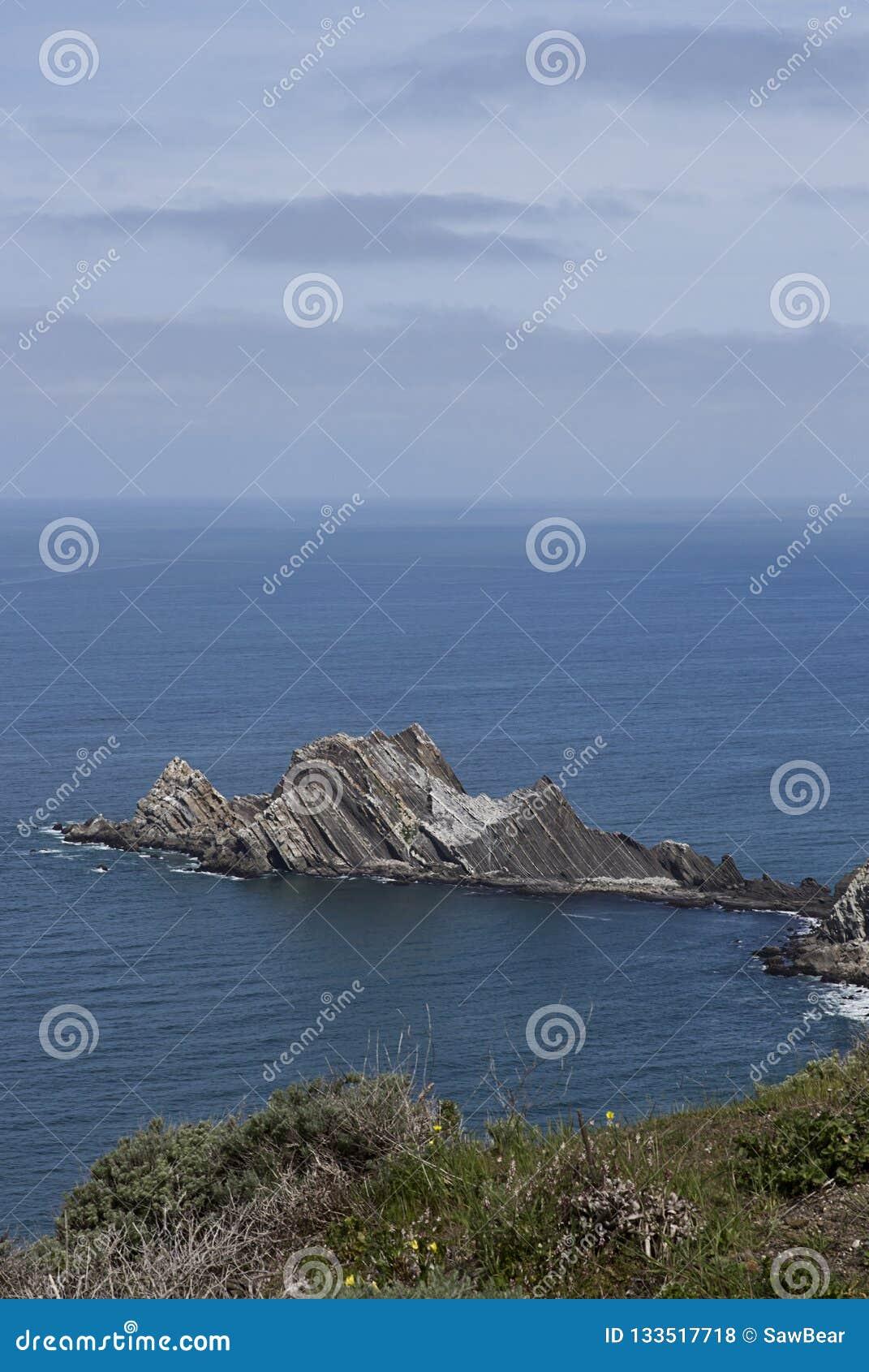 San Pedro Rock i Pacifica, Kalifornien