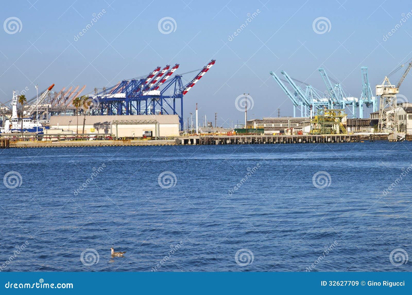 San Pedro terminaler sydliga Kalifornien.