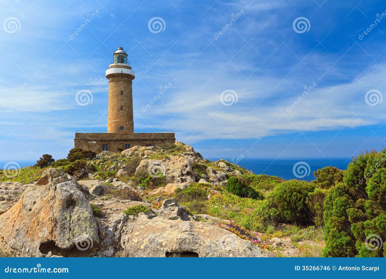 San pietro island lighthouse stock photo image 35266746 san pietro island lighthouse sciox Gallery