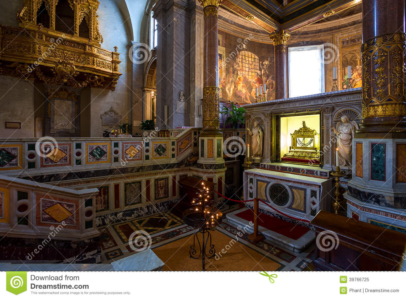 San Pietro in Vincoli church. Rome. Italy.