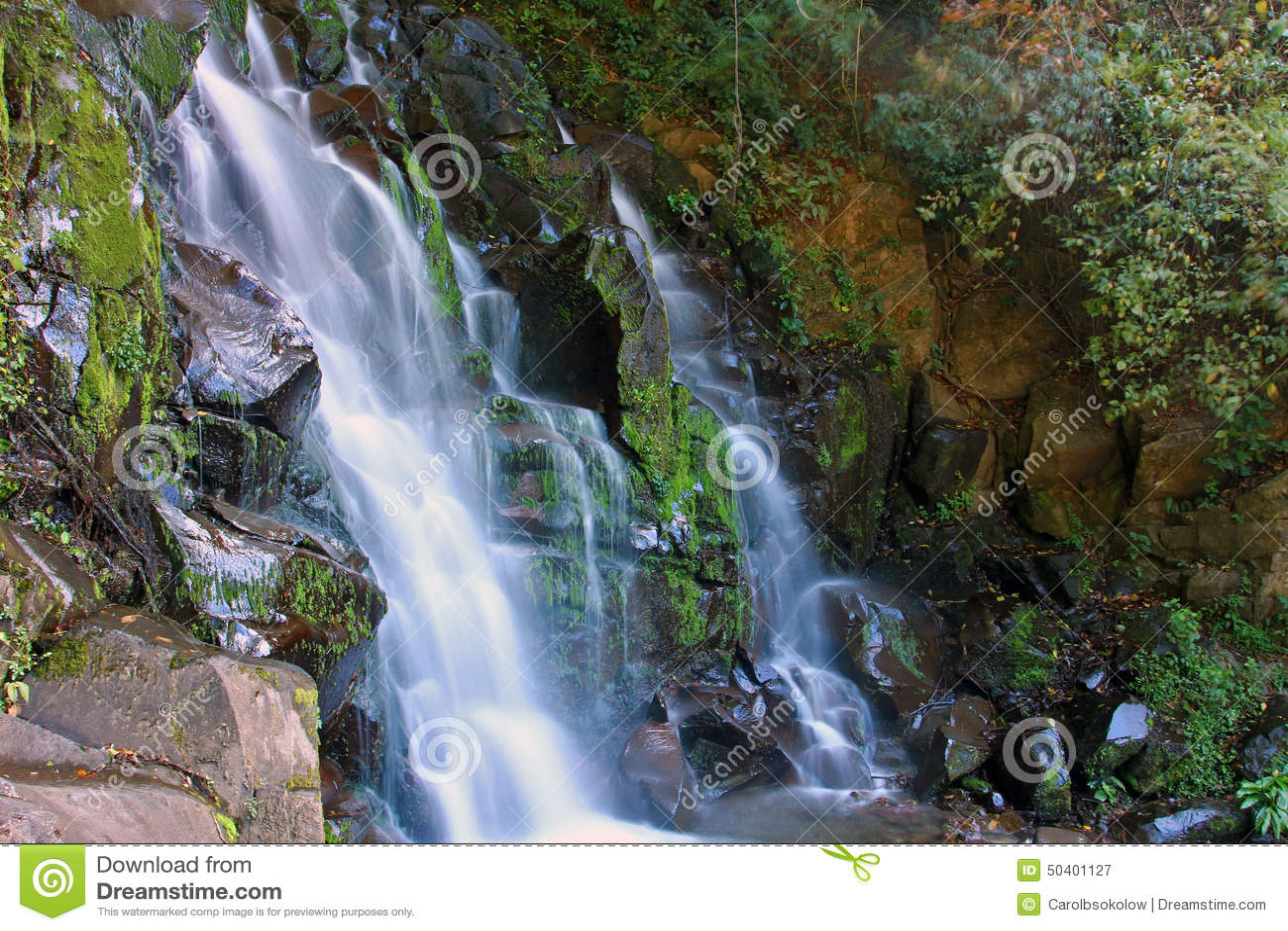 San Ramon Waterfall, Boquete, Chiriqui, Panama