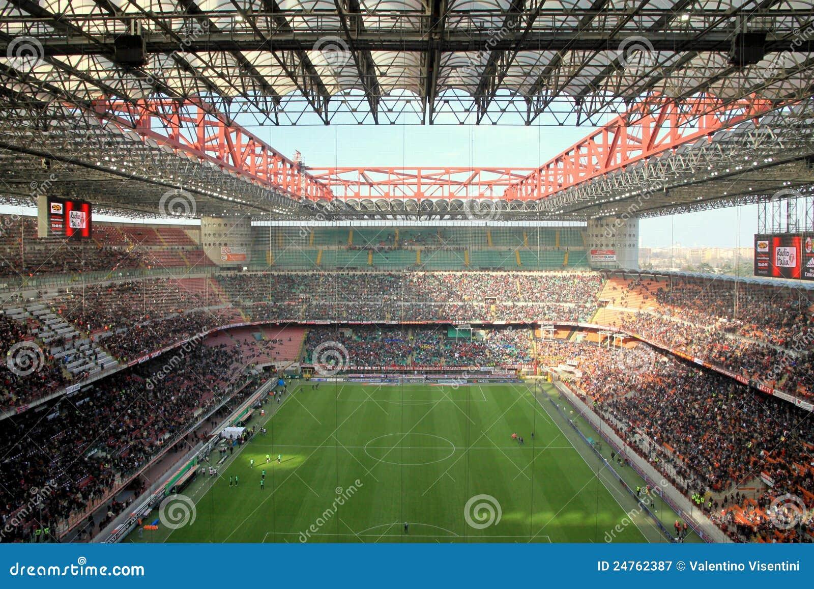 san siro stadium editorial photography image 24762387