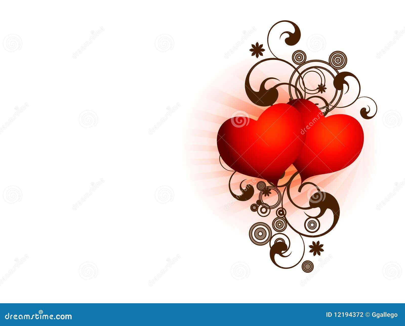 San Valentine Two Hearts