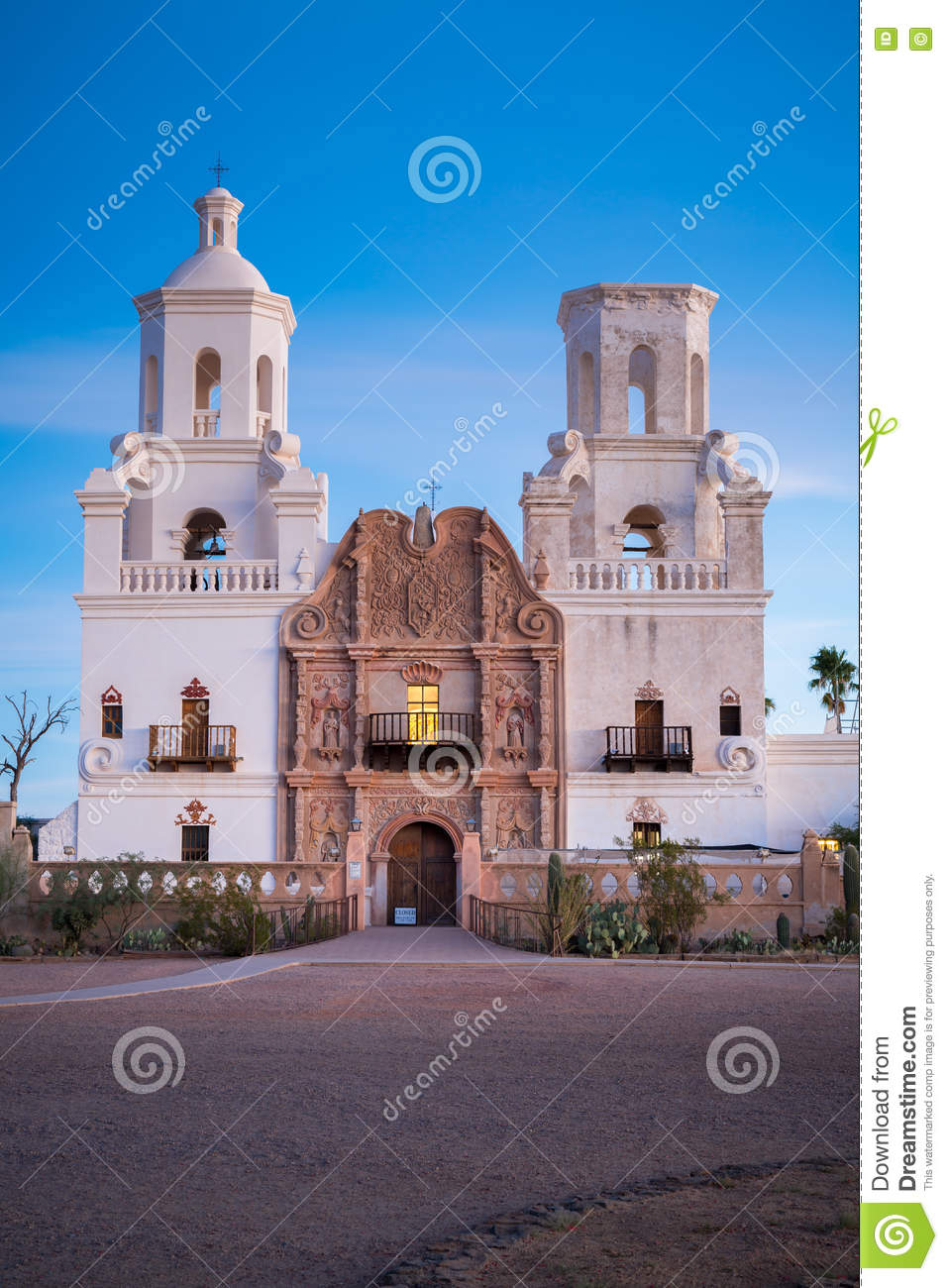 San Xavier Del Bac in Tucson Arizona