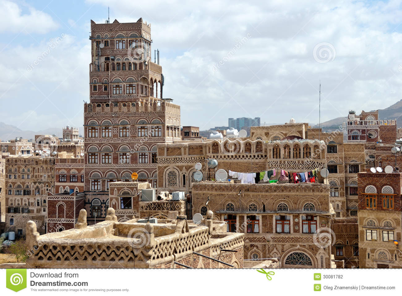 Sanaa editorial photography image 30081782 for Architecture yemen