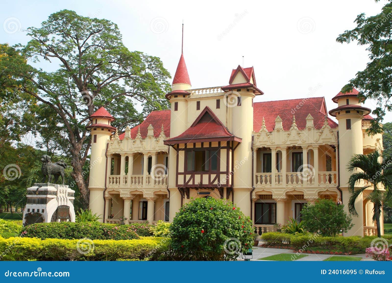 Sanam Chan pałac, Nakhon pathom, Tajlandia