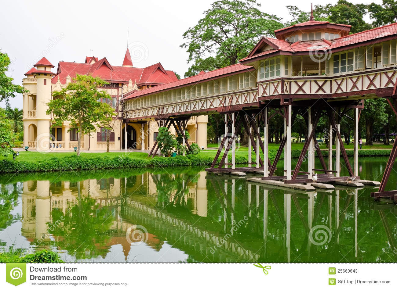 Sanam Chan Palace Stock Photos - Image: 25660643
